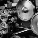 gears inside cobots